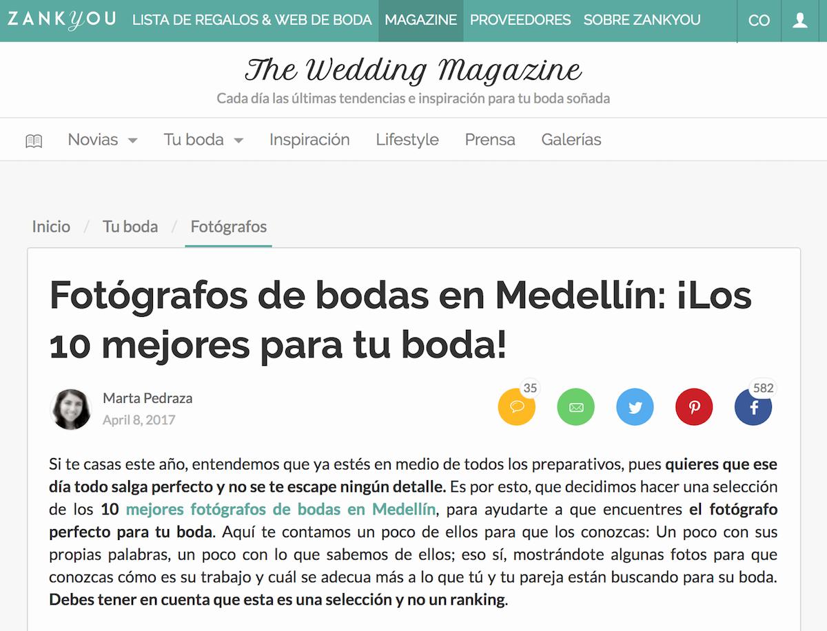Mejores fotógrafos de bodas de Medellín TOP 10 Zankyou 2017 Juan Camilo Méndez, fotógrafos de bodas Medellín, fotógrafos matrimonios Medellín Juan Camilo Méndez, Fotos de boda Medellín Juan Camilo Méndez