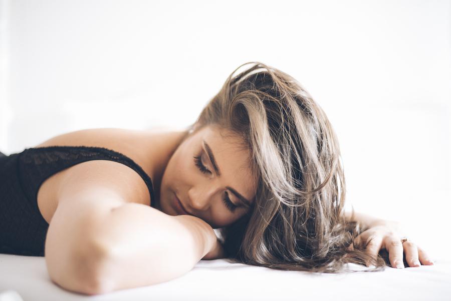 Fotos Boudoir sexys en lencería Colombia