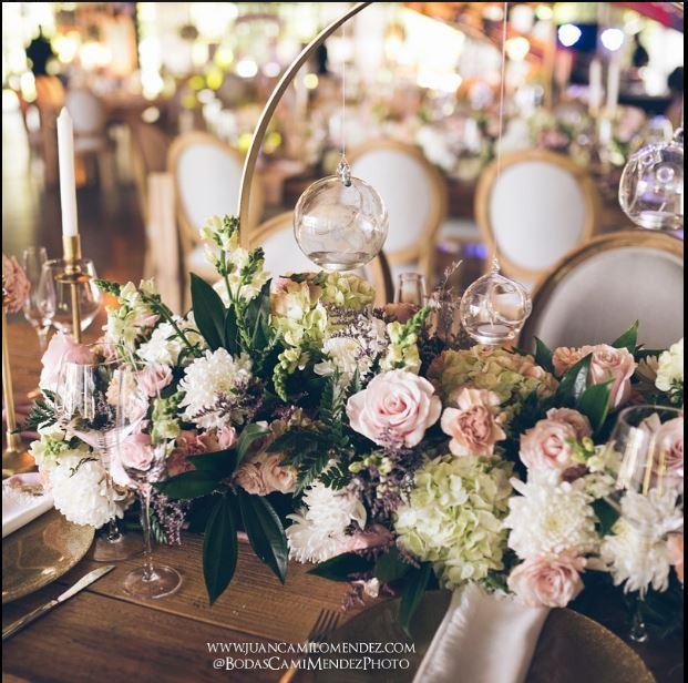Arreglos de flores para mesas